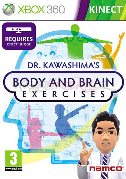 Dr. Kawashima´s Body and Brain Exercises (Xbox 360 - Kinect) - Výprodej