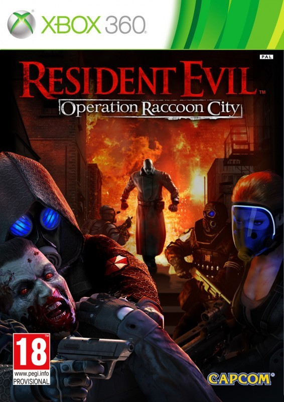 Resident Evil Operation Racoon City (Bazar/ Xbox 360)