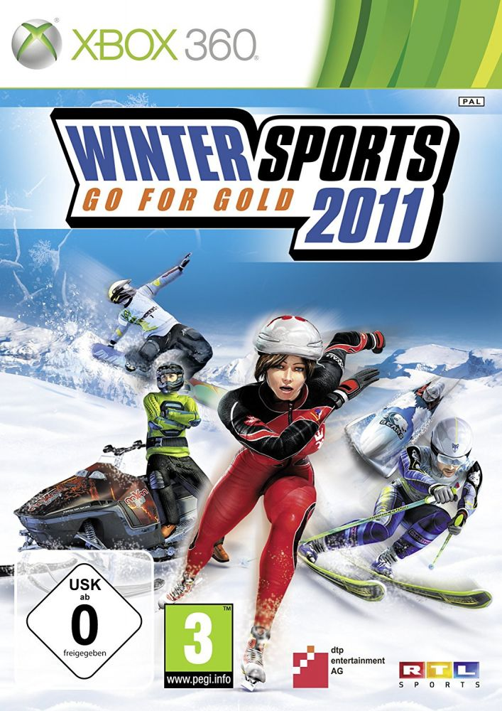 Winter Sports 2011: Go for Gold (Bazar/ Xbox 360)
