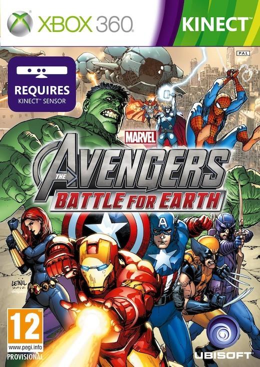 Marvel Avengers: Battle for Earth (Xbox 360)