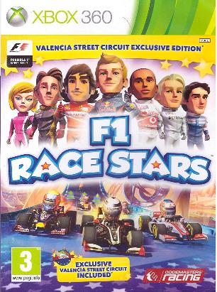 F1 Race Stars /Valencia Street/ (Bazar/ Xbox 360)