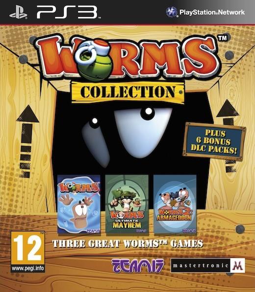 Worms Collection (Bazar/ PS3) - DE