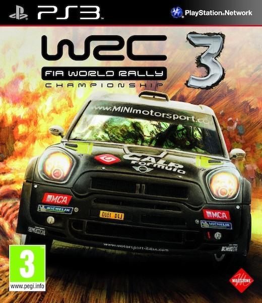 WRC: FIA World Rally Championship 3 /WRC 3/ (Bazar/ PS3)