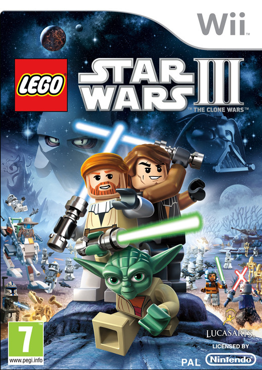 LEGO Star Wars: The Clone Wars (Bazar/ Wii)