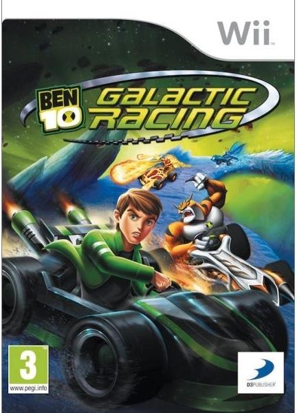 Ben 10: Galactic Racing (Bazar/ Wii)