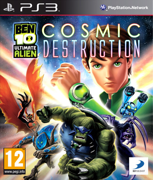 Ben 10 Ultimate Alien: Cosmic Destruction (Bazar/ PS3)