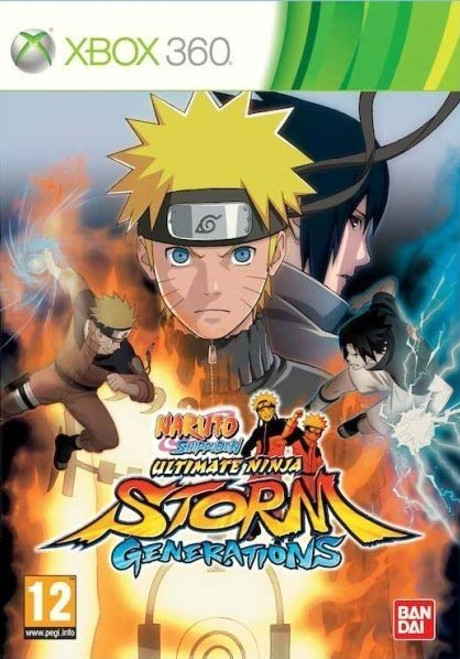Naruto Shippuden: Ultimate Ninja Storm Generations (Bazar/ Xbox 360)