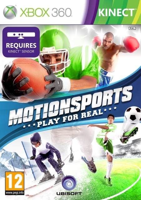 MotionSports (Bazar/ Xbox 360 - Kinect)