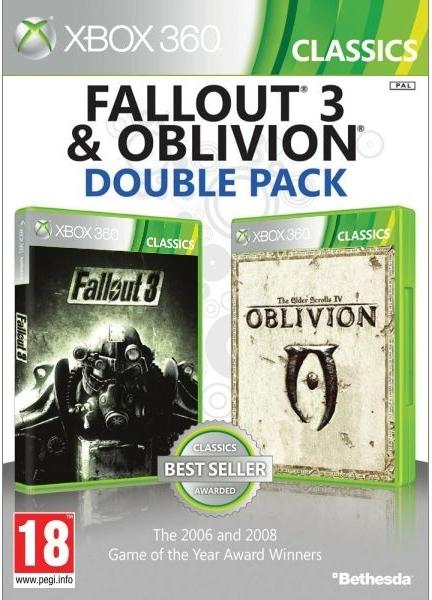 Fallout 3 + The Elder Scrolls IV: Oblivion (Bazar/ Xbox 360)