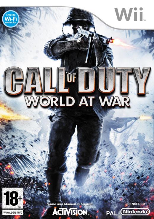Call of Duty: World at War (Bazar/ Wii)