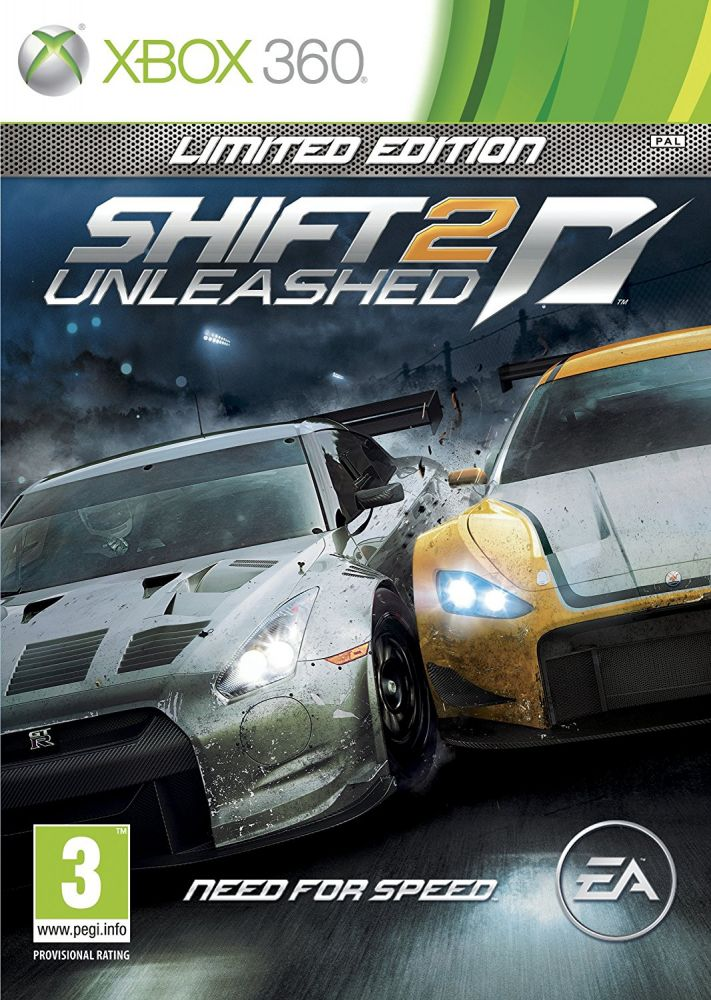 Need For Speed: Shift 2 Unleashed (Bazar/ Xbox 360)