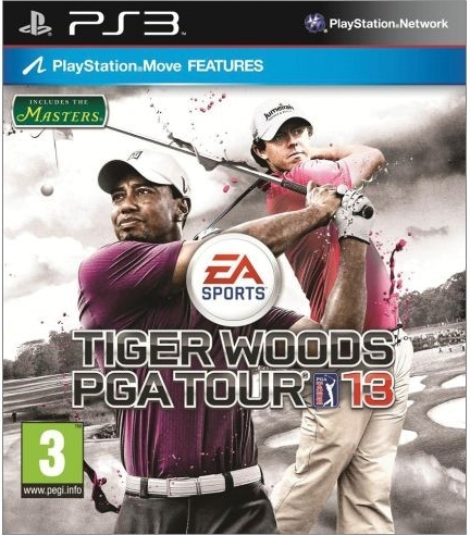Tiger Woods PGA Tour 13 (Bazar/ PS3 - Move)