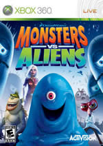 Monsters vs. Aliens (Bazar/ Xbox 360)