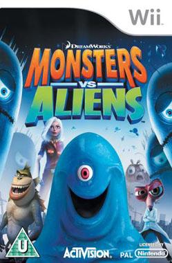 Monsters vs. Aliens (Bazar/ Wii)