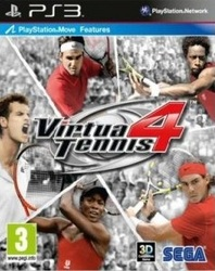 Virtua Tennis 4 (Bazar/ PS3 - Move)