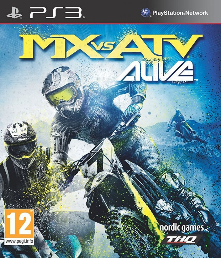 MX vs ATV Alive (Bazar/ PS3)
