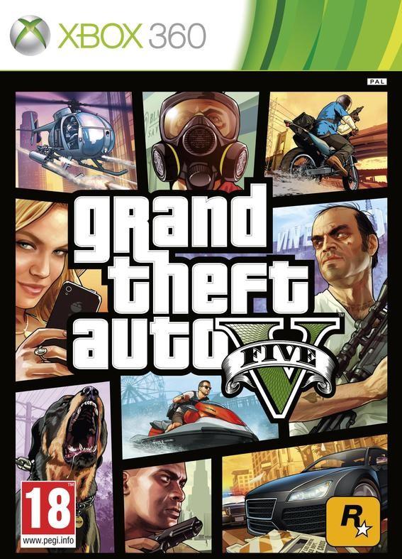 Grand Theft Auto V /GTA V/ (Xbox 360) - DE