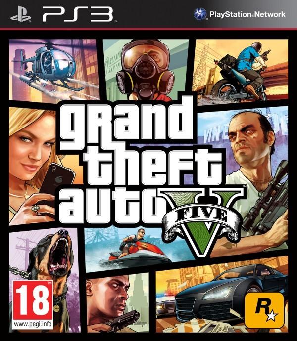 Grand Theft Auto V /GTA V/ (Bazar/ PS3)