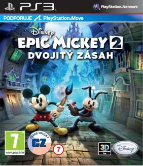Epic Mickey 2: Dvojitý zásah (Bazar/ PS3 - Move)