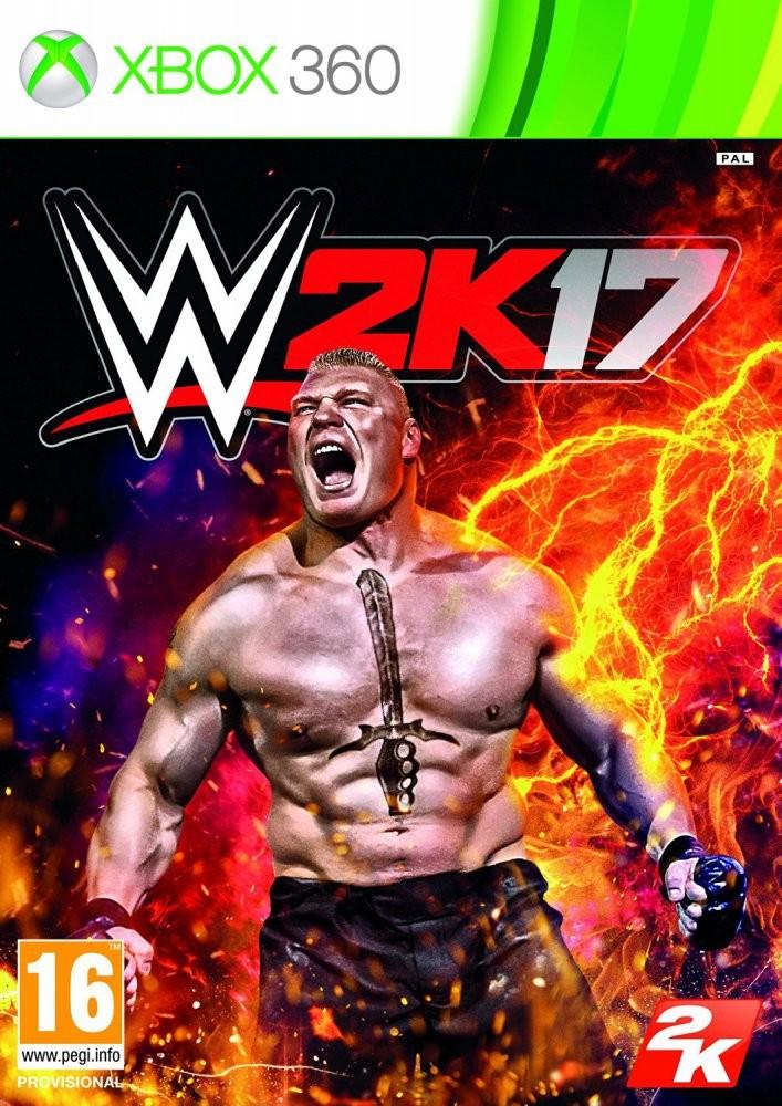 WWE 2K17 (Bazar/ Xbox 360)