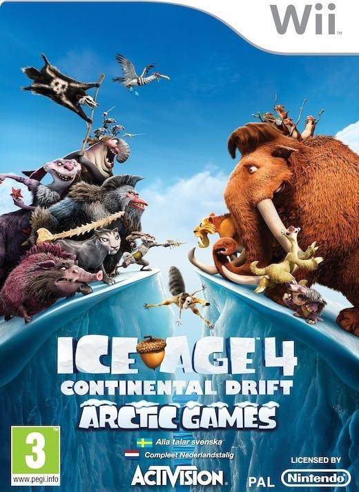Ice Age 4: Continental Drift (Bazar/ Wii)