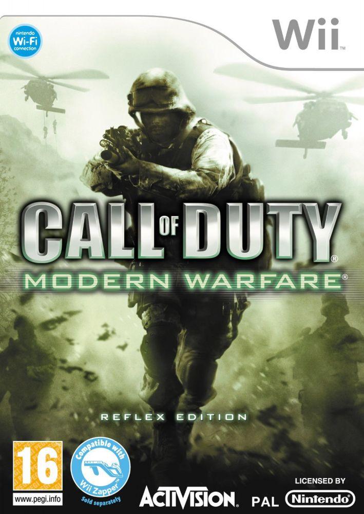 Call Of Duty 4: Modern Warfare /Reflex Edition/ (Bazar/ Wii)