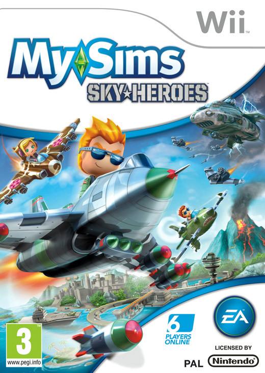 MySims Skyheroes (Bazar/ Wii)