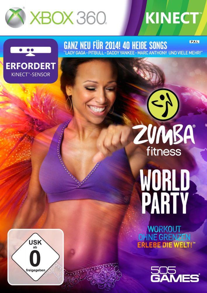 Zumba Fitness World Party (Bazar/ Xbox 360 - Kinect) - DE
