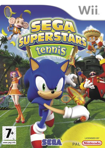 Sega Superstars Tennis (Bazar/ Wii)