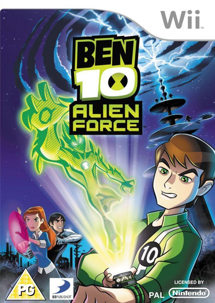 Ben 10: Alien Force (Bazar/ Wii)
