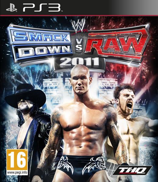 WWE Smackdown vs Raw 2011 (Bazar/ PS3)