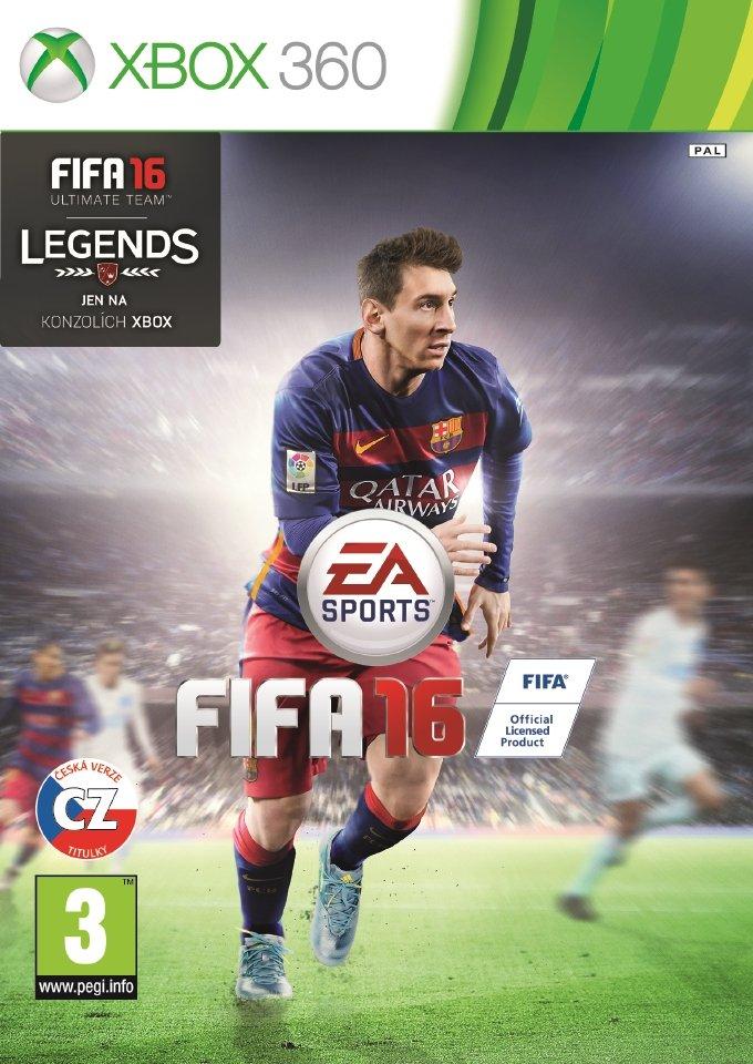 FIFA 16 (Xbox 360) - CZ