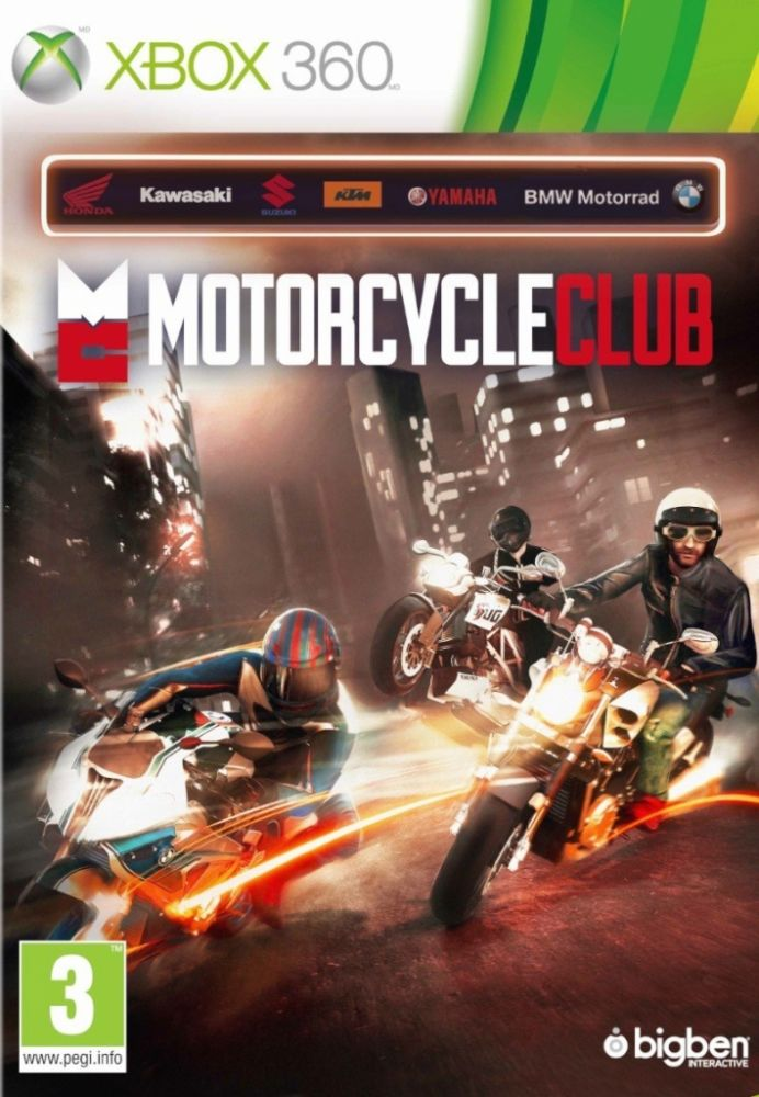 Motorcycle Club (Bazar/ Xbox 360)