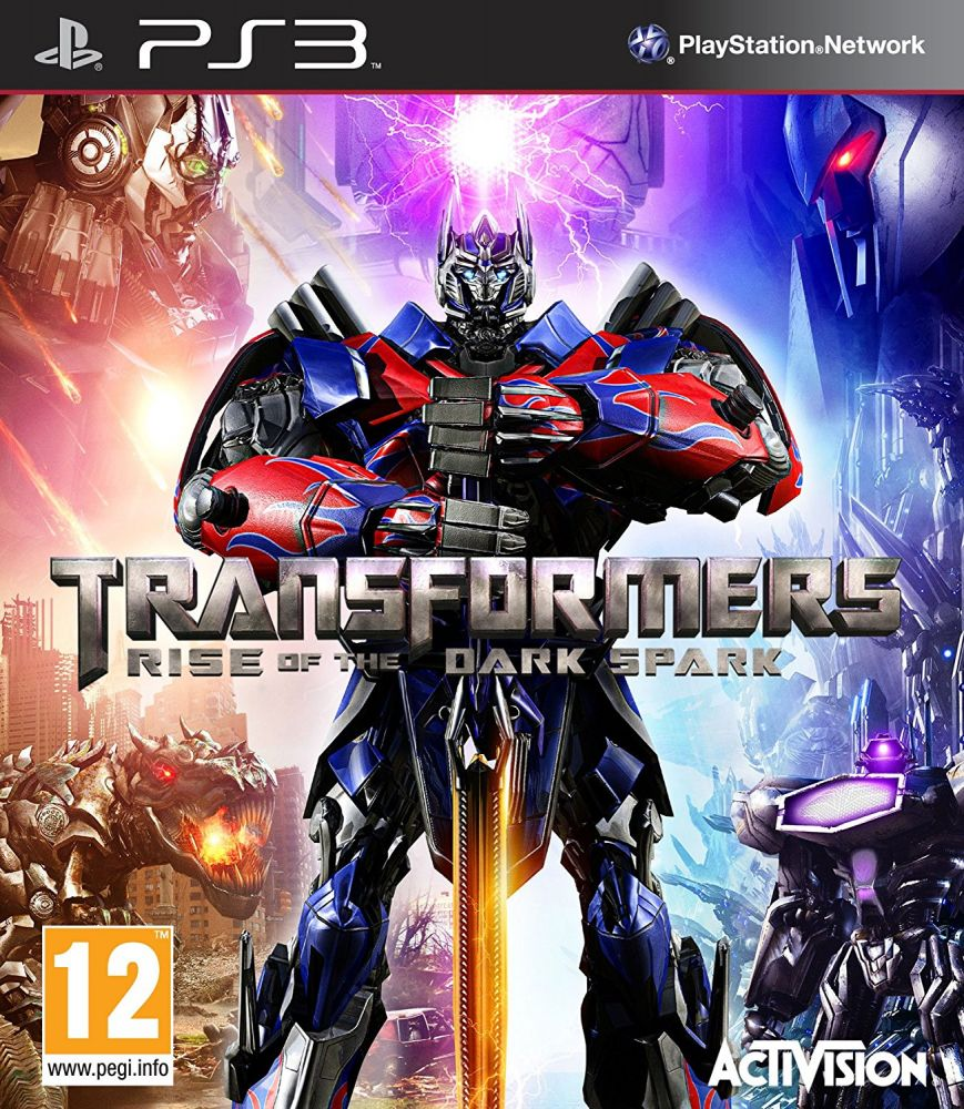 Transformers: Rise of the Dark Spark (Bazar/ PS3)