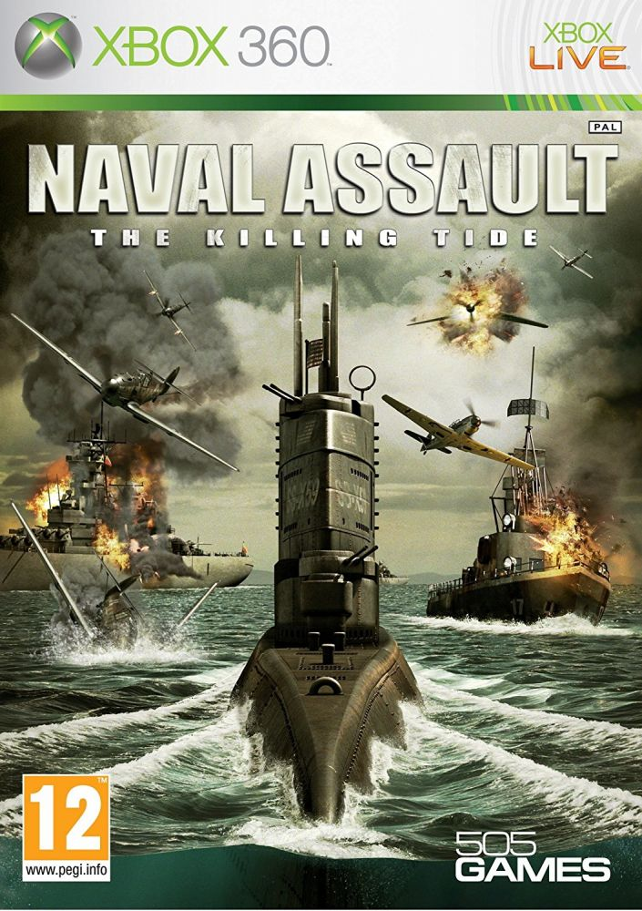 Naval Assault: The Killing Tide (Bazar/ Xbox 360)
