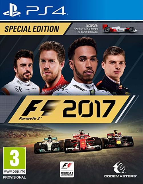 F1 2017 /Spec. Edition/ (Bazar/ PS4)