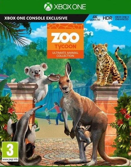 Zoo Tycoon /Ultimate Animal Collection/ (Bazar/ Xbox One - Kinect)