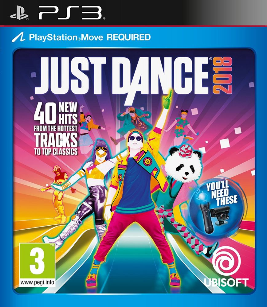 Just Dance 2018 (PS3 - Move)