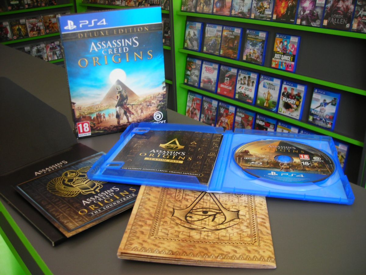 Assassins Creed: Origins /Deluxe Edition/ (Bazar/ PS4)