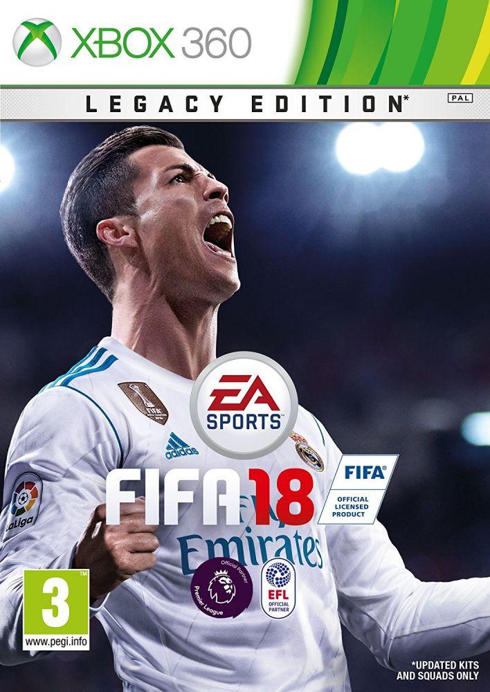 FIFA 18 /Legacy Edition/ (Bazar/ Xbox 360)