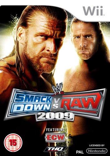 WWE Smackdown vs Raw 2009 (Bazar/ Wii)