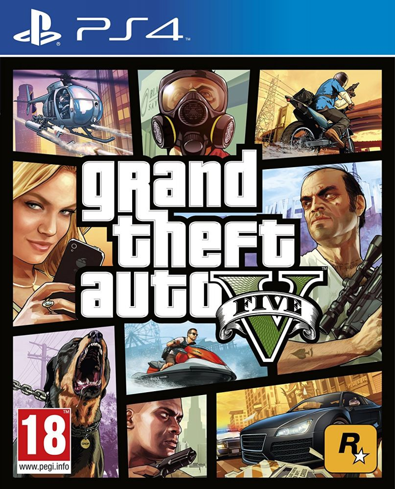 Grand Theft Auto V /GTA V/ (PS4)