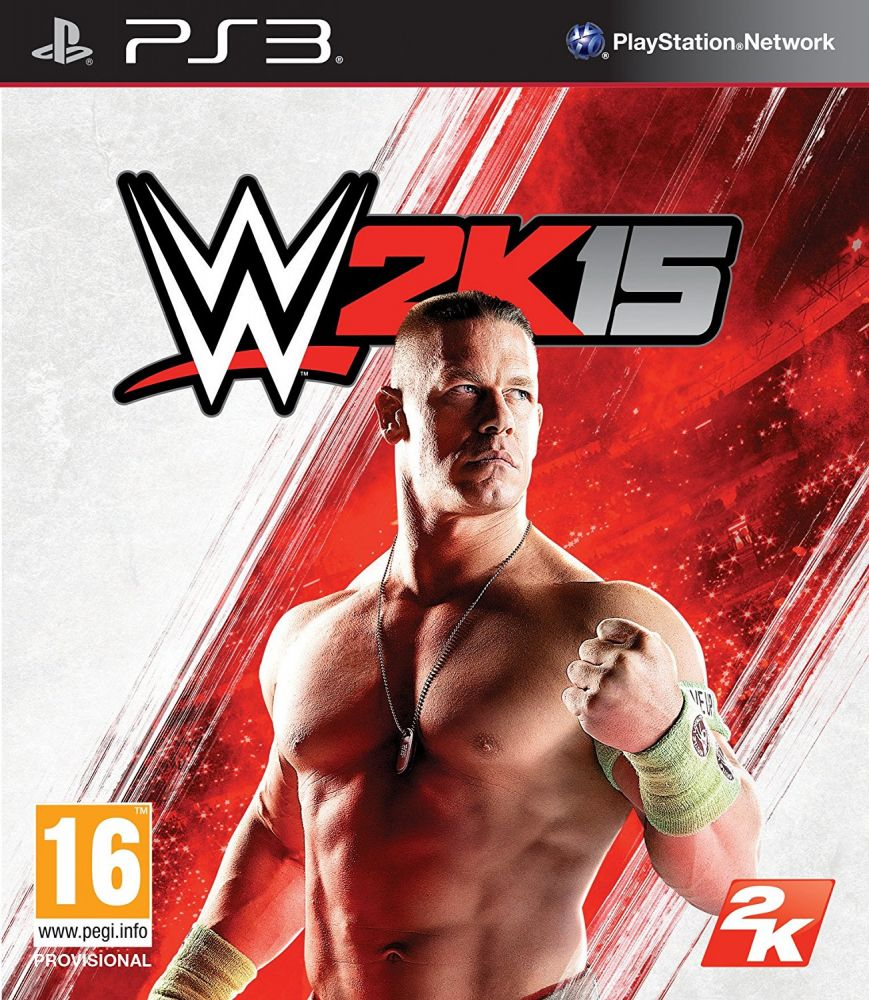 WWE 2K15 (Bazar/ PS3)