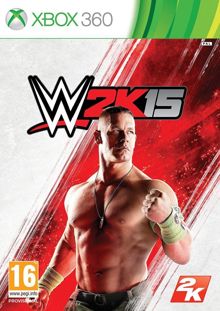 WWE 2K15 (Bazar/ Xbox 360)