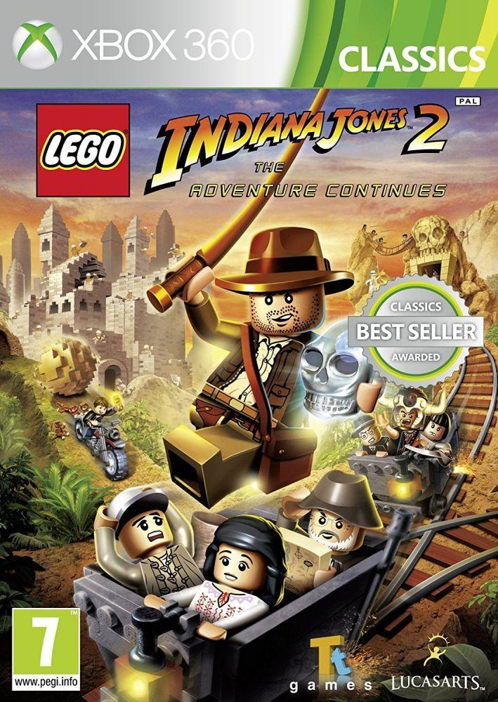 LEGO Indiana Jones 2: The Adventure Continues (Bazar/ Xbox 360)