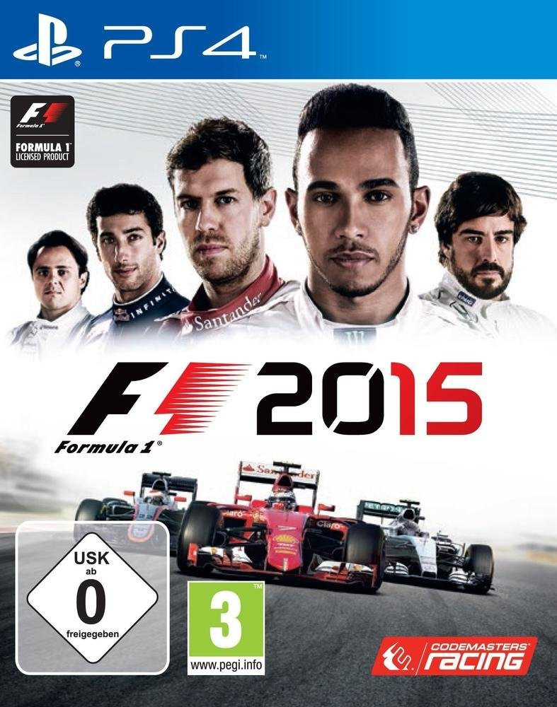 F1 2015 (Bazar/ PS4)