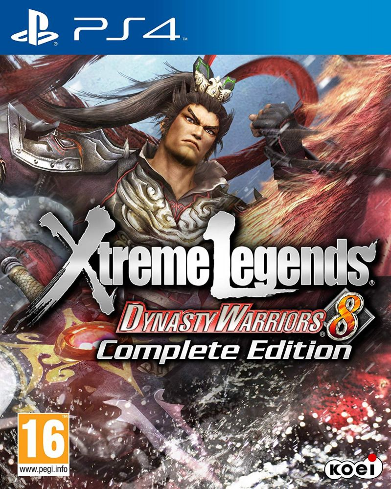 Dynasty Warriors 8: Xtreme Legends /Complete Edition/ (Bazar/ PS4)