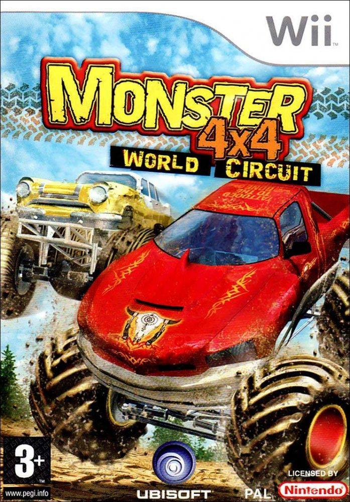 Monster 4X4 World Circuit (Bazar/ Wii)