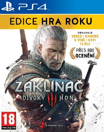 Zaklínač 3: Divoký hon - Edice Hra Roku (Bazar/ PS4)