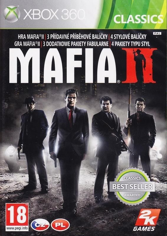 Mafia II /Mafia 2/ Special Extended Edition (Bazar/ Xbox 360) - CZ